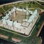 Kronborg Cowl: Palace in birds-eye view